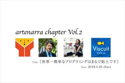 原田はかせが語ります。4/20 artenarra chapter Vol.2